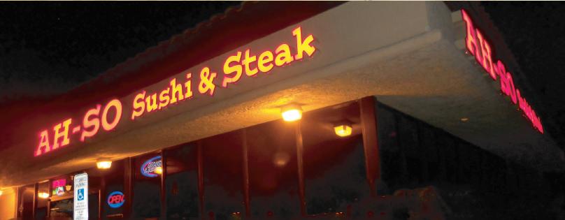 Ah-so sushi Steak